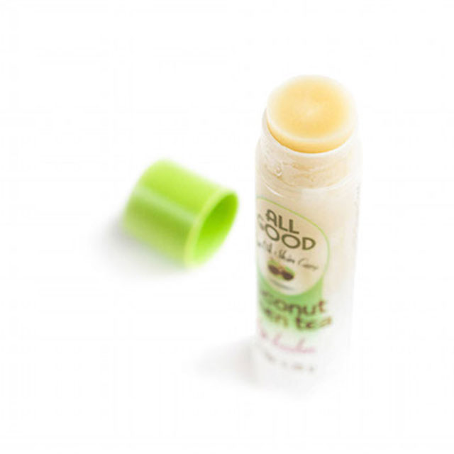 Coconut Green Tea Tea Oil Lip Balm Detail