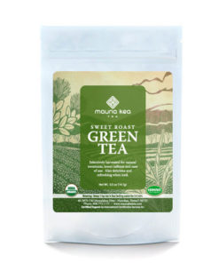 Organic Hawaii Sweet Roast Green Tea
