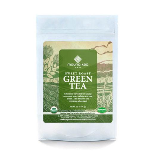 Organic Hawaii Sweet Roast Green Tea
