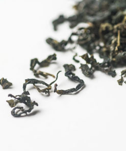 Organic Island Green Tea Detail