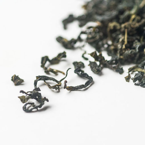 Organic Island Green Tea Detail