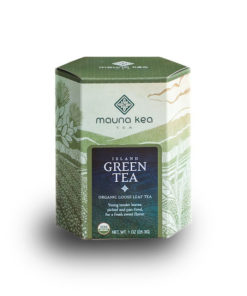 Organic Island Green Tea from Hawaii