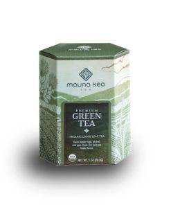 Organic Premium Green Tea Box