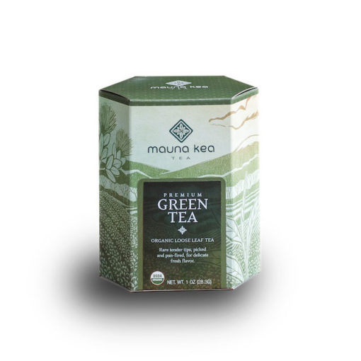 Organic Premium Green Tea Box