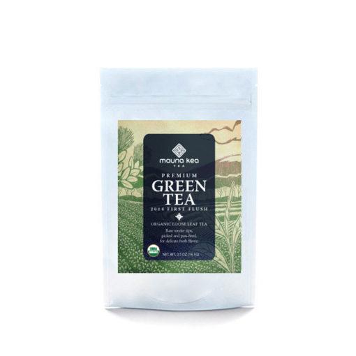 Organic Premium Green Tea Pouch