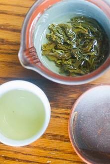 Sake and Tea Infusion