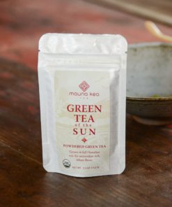 Powdered Green Tea of the Sun